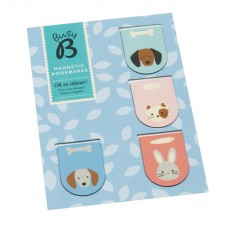 Busy B - Shaped Magnetic Book Marks (Cute)