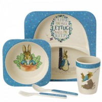 Beatrix Potter - Peter Rabbit Bamboo Dinner Set