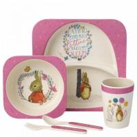 Beatrix Potter - Flopsy Bamboo Dinner Set