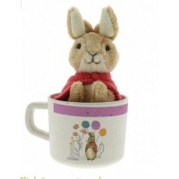Beatrix Potter - Flopsy Bamboo Mug & Soft Toy Gift Set