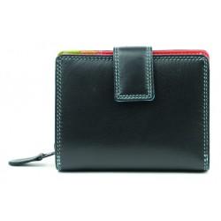 Golunski Leather Wallet Purse 7-142 Black/Tropical