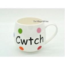 Mug Multi Spot  - Cwtch