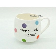 Mug Multi Spot - Penblwydd Hapus