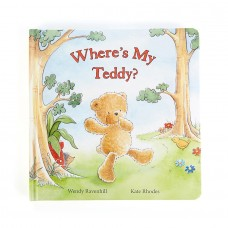 Jellycat Where's My Teddy Book