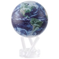 """Mova Globe Satellite view with cloud cover 6"""""""