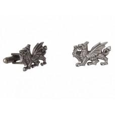 A. E. Williams Welsh Dragon Pewter Cufflinks