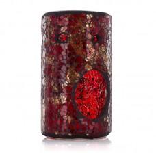 Ashleigh & Burwood Mosaic Oil Burner Column - Dragon's Tale
