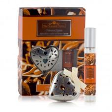 Ashleigh & Burwood Metal Heart Pomander & Home Spray - Oriental Spice